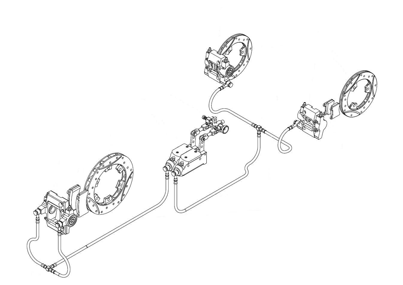Complete KABS Brake System