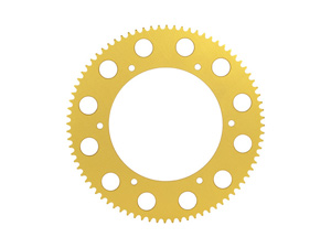 Sprocket and pinion